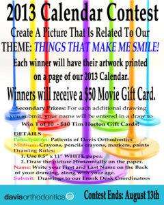 2013 Calendar Contest