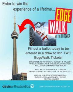 CONTEST NEWS: CN TOWER'S EdgeWalk