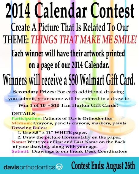 Calendar Sign 2014