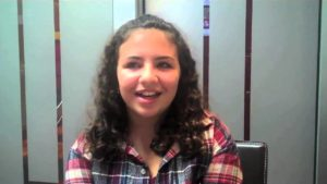 Noelle C - At a year and a half into treatment at Davis Orthodontics