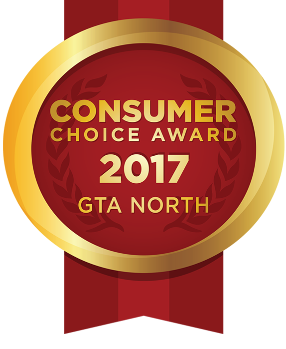 Davis Orthodontics receives the 2017 Business Excellence Consumers Choice Award GTA