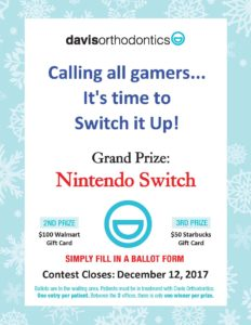 Chance to win a Nintendo Switch!!