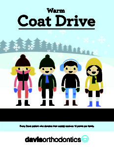 Warm Coat Drive is on now!