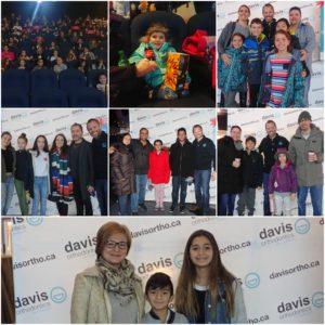 Davis Ortho Patient Appreciation Movie Day!!