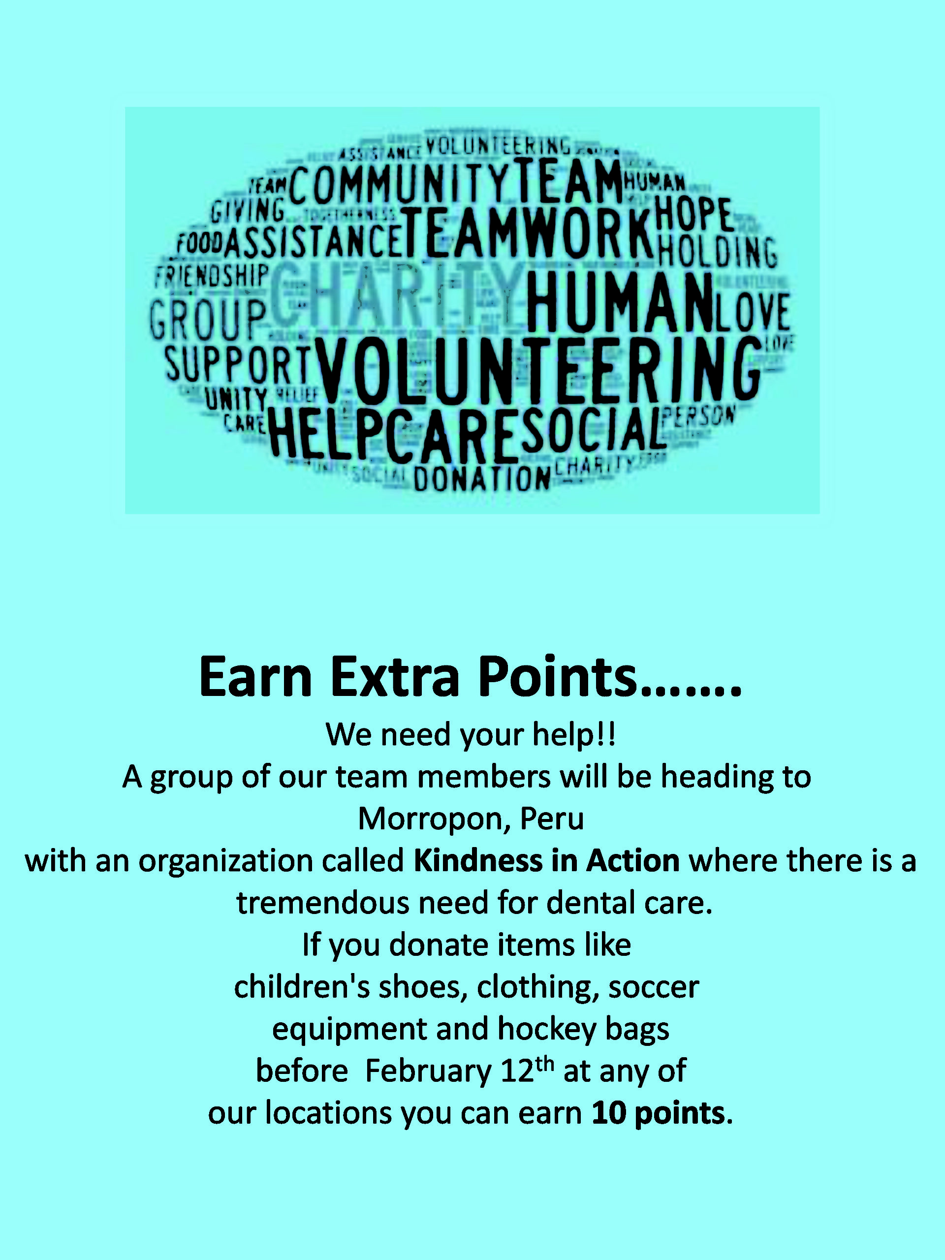 Earn Extra Davis Points!!!
