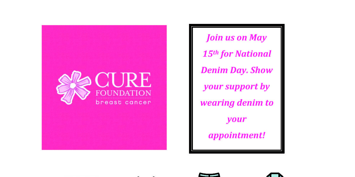 Join us on May 15th ~ National Denim Day