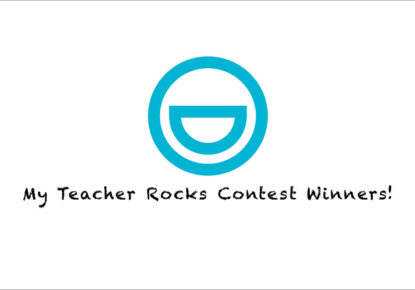 My Teacher Rocks Contest Winners!