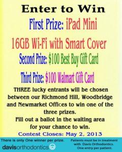 Apple iPad Mini Contest - Enter to Win!