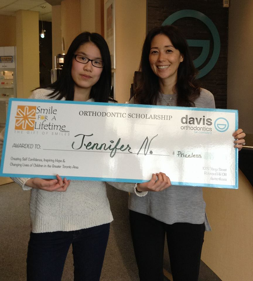 The team at Davis Orthodontics would like to congratulate Jennifer as one of our Smile For A Lifetime recipients! The doctors here are thrilled to be able to provide you with this award, and Jennifer couldn't be happier!!!